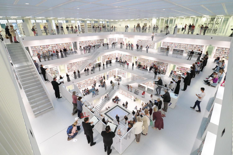 Wandelkonzert Stadtbibliothek Stuttgart
